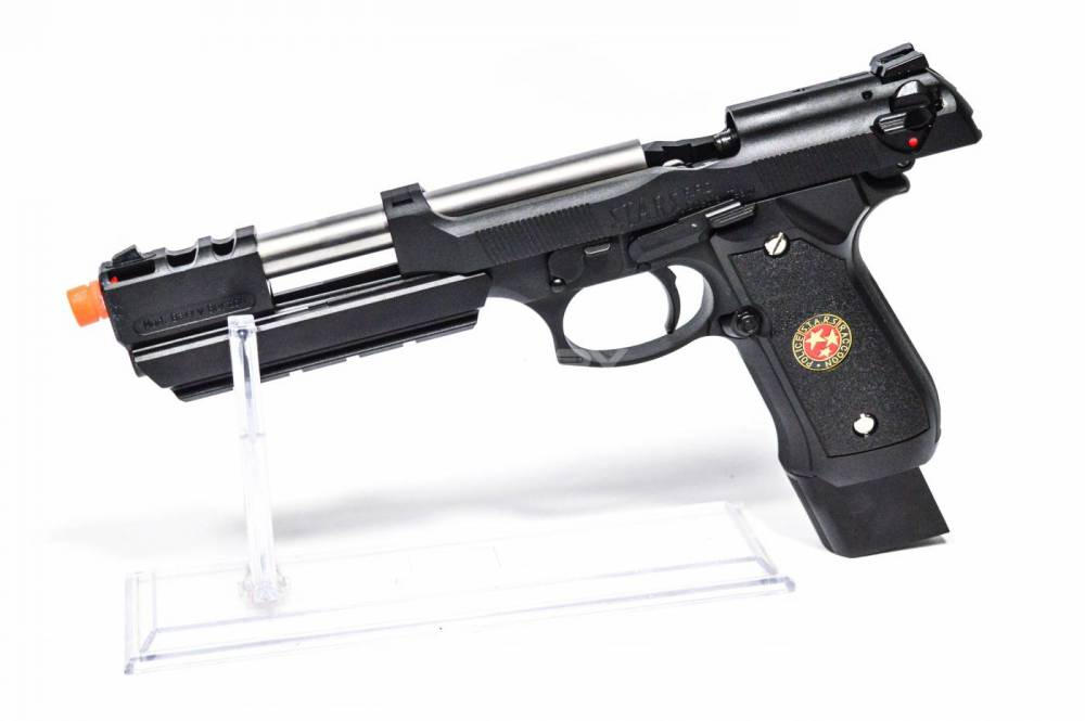 pistola de airsoft  gbb gas blowback