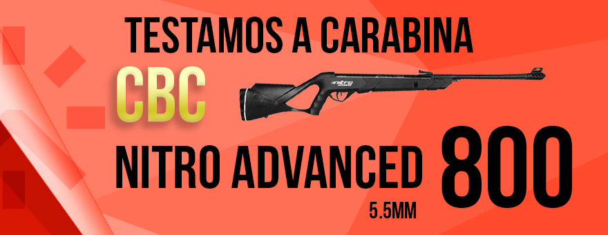 Teste de Tiro Nitro Advanced 800 CBC!