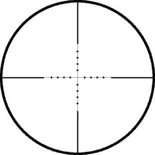 mil dot reticle