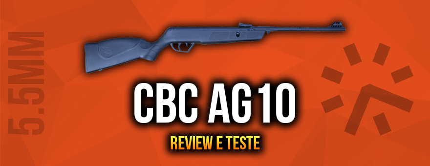 Review e Teste de Tiro – Carabina CBC AG10 5.5mm